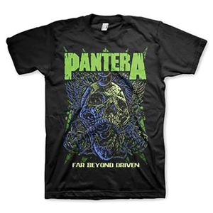 Pantera Far Beyond Driven (Mens /  Unisex Adult T-Shirt) Black, SS [Small] Front Print Only