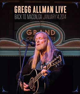 Gregg Allman Live: Back to Macon, GA