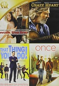 Walk the Line /  Crazy Heart /  That Thing You Do /  Once Quad Feature