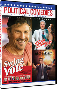 Political Comedies: Swing Vote, Blaze, Wrong Is Right