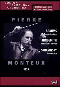 Boston Symphony Orchestra: Historic Telecasts: Pierre Monteux