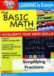 Basic Math Tutor: Simplifying Fractions