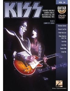 Guitar Play-Along: Kiss 34