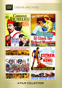 Cardinal Richelieu /  I'd Climb the Highest Mountain /  Sodom and Gomorrah /  Esther and the King