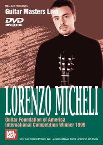 Lorenzo Micheli: Guitar Foundation of America Inte