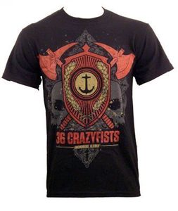 Crest Basic T-Shirt Black - XL