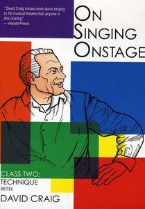 On Singing on Stage: 2