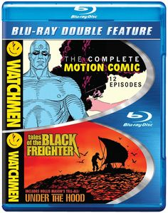 Watchmen: The Complete Motion Comic /  Watchmen: Tales of the Black Freighter & Under the Hood