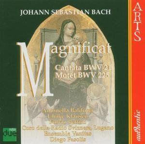 Magnificat /  Cantata BWV 21 /  Motet BWV 225