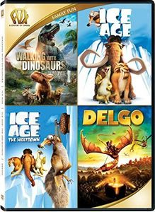 Walking With Dinosaurs /  Ice Age /  Ice Age: The Meltdown /  Delgo Quad