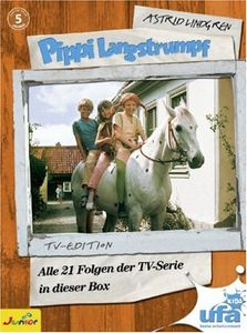 Pippi Langstrumpf Tv-Serien Box [Import]