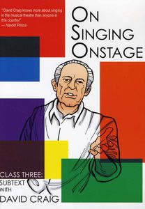 On Singing on Stage: 3