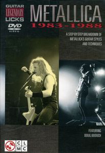 Metallica: Guitar Legendary Licks 1983-1988