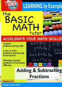 Basic Math Tutor: Adding and Subtracting Fractions