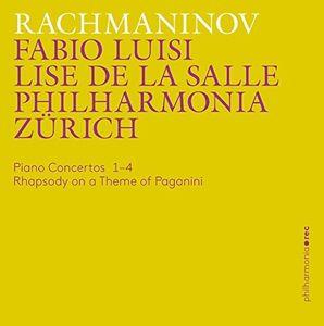 Rachmaninov: Piano Concertos 1-4 - Rhapsody on a Theme of Paganini