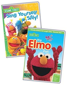Sesame Street: Big Elmo Fun/ Sing Yourself Silly