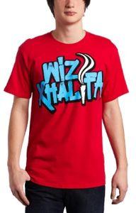 Smoke Type Basic T-Shirt Red - S