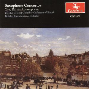 Sax Ctos: Glazunov, Rachmaninoff, Etc