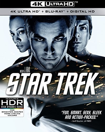 Star Trek [4K Ultra HD Blu-ray/Blu-ray]