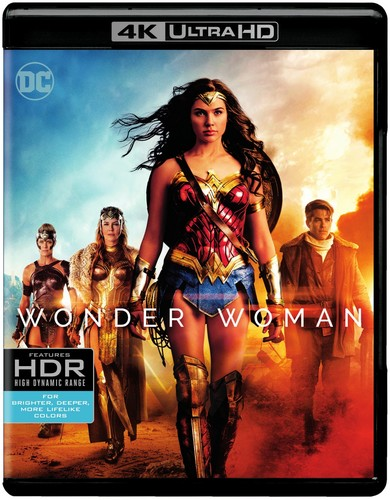 Wonder Woman [4K Ultra HD Blu-ray/Blu-ray]