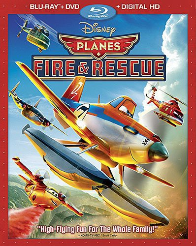 Planes: Fire & Rescue [2 Discs] [Blu-ray/DVD]