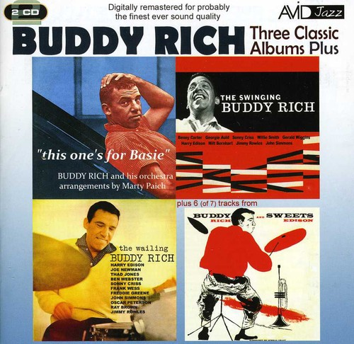 Wailing Buddy/ Swinging/ Buddy and Sweets/ This One's For Basie