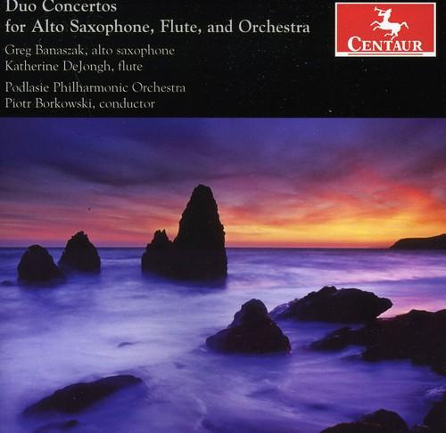 Duo Ctos for Alto Saxophone Flute & Orch