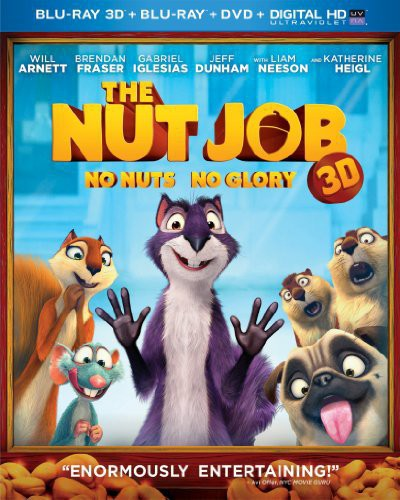 Nut Job [2 Discs] [UltraViolet] [3D/2D] [Blu-ray/DVD]