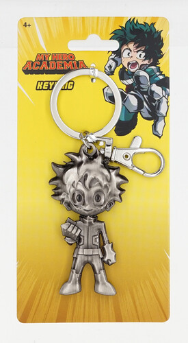My Hero Academia Deku Figure Pewter Key Ring