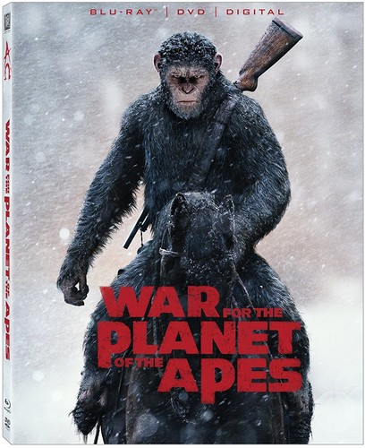War for the Planet of the Apes [Blu-ray/DVD]