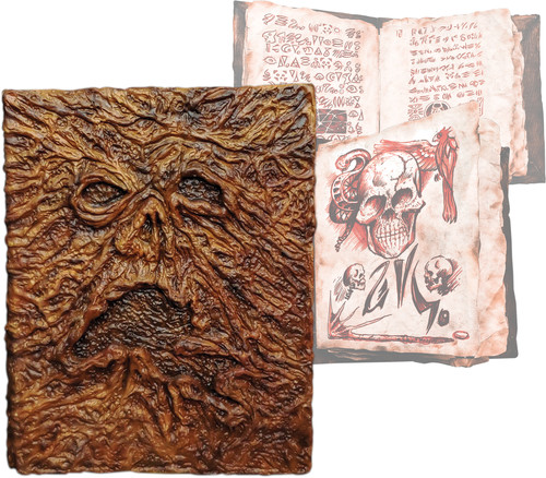 Evil Dead 2 Book of the Dead 'Necronomicon' Prop v 2 with pages