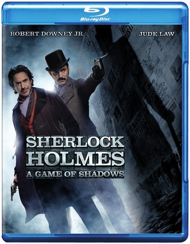 Sherlock Holmes: A Game of Shadows [2 Discs] [UltraViolet] [Blu-ray/DVD]