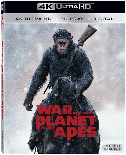 War for the Planet of the Apes [4K Ultra HD Blu-ray/Blu-ray]