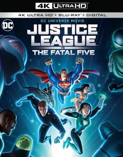 Justice League vs. The Fatal Five [4K Ultra HD Blu-ray/Blu-ray]