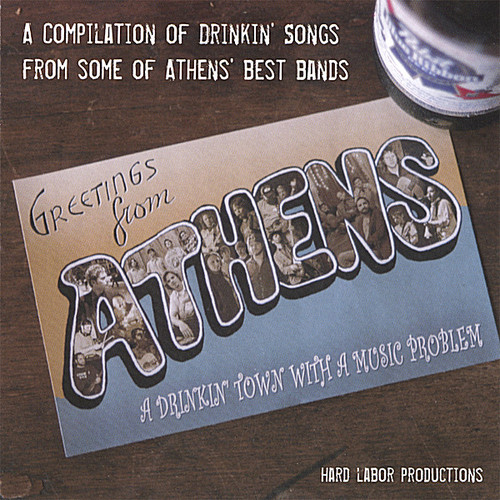 Greetings from Athens a Drinkin' Town with a Music