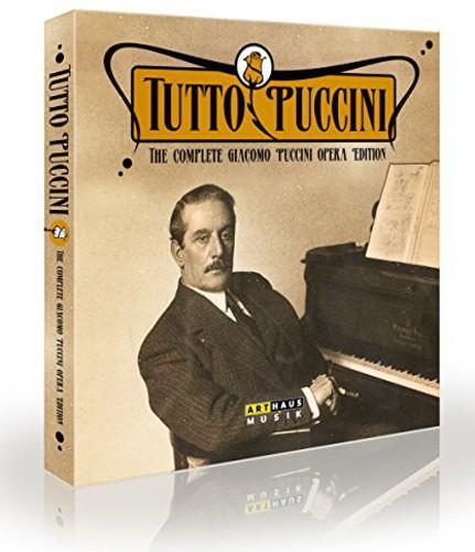Tutto Puccini-Comp Giacomo Puccini Opera Edition