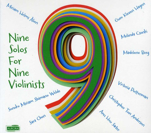 Nine Solos for Nine Violinists