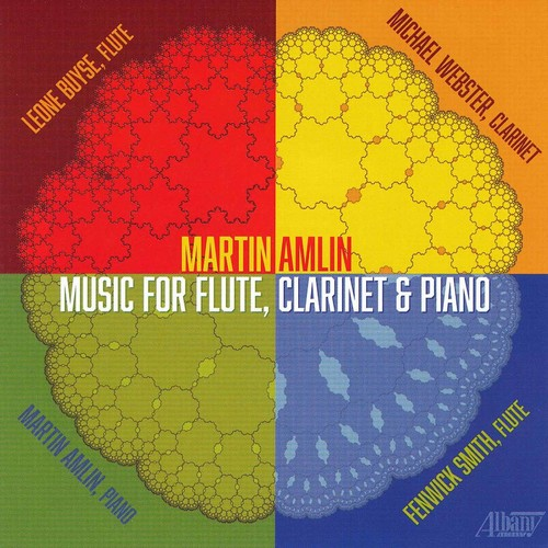 Martin Amlin: Music for Flute Clarinet & Piano