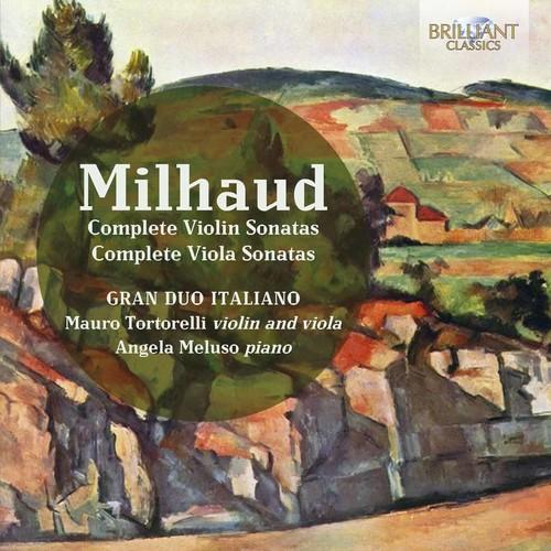 MILHAUD: COMPLETE VIOLIN & VIOLA SONATAS