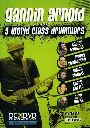 5 World Class Drummers