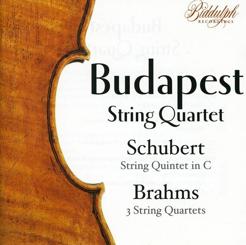 Brahms Complete String Quartets 1-3 & Schubert String Quintet D956