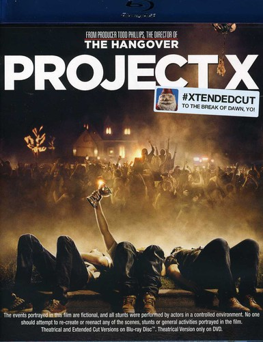 Project X [Blu-ray/DVD] [Extended Cut] [UltraViolet]