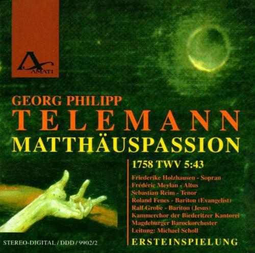 Matthaus-Passion (1758)
