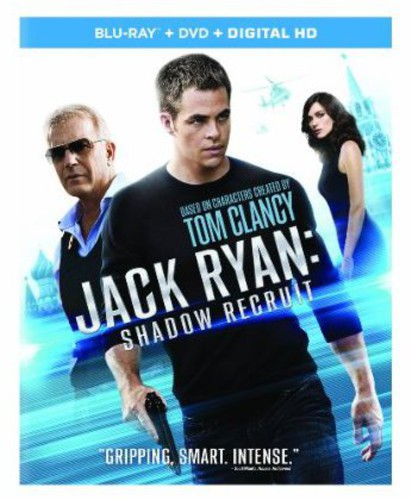 Jack Ryan: Shadow Recruit [2 Discs] [Blu-ray/DVD]