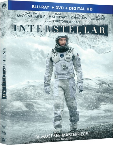 Interstellar [2 Discs] [UltraViolet] [Blu-ray/DVD]