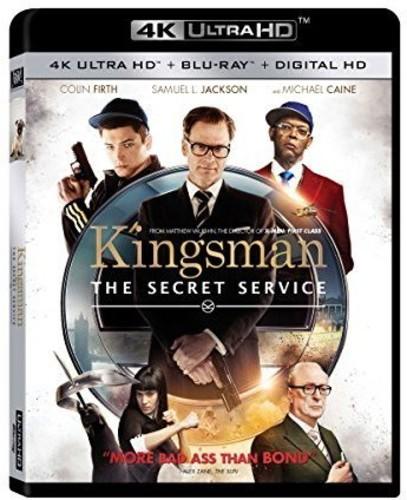Kingsman: The Secret Service [4K Ultra HD Blu-ray/Blu-ray]