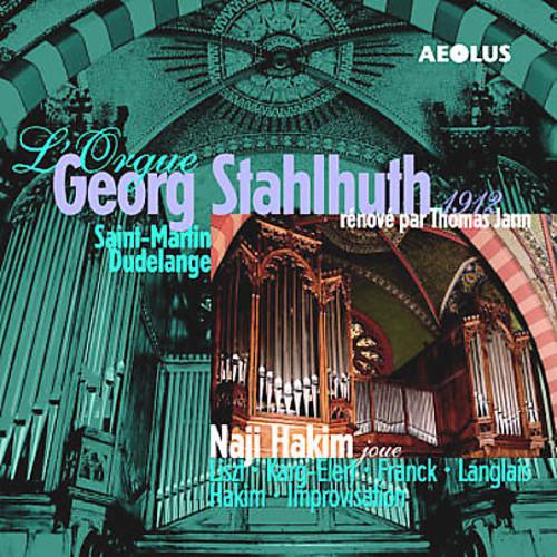 Naji Hakim at the 1912 Georg Stahlhuth Organ