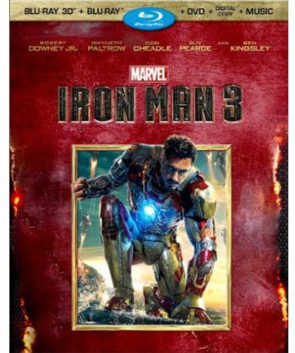 Iron Man 3 [3 Discs] [3D/2D] [Blu-ray/DVD]