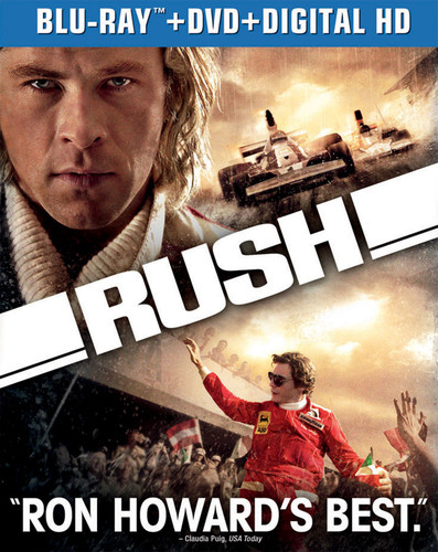 Rush [2 Discs] [UltraViolet] [Blu-ray/DVD]