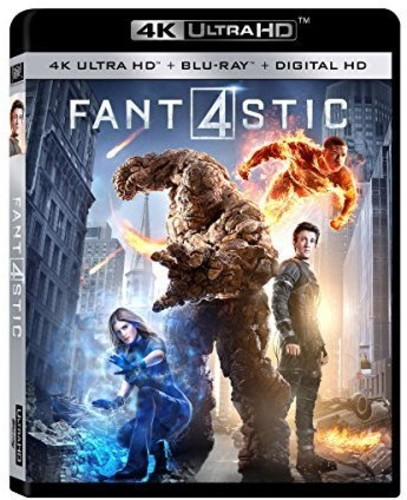 Fantastic Four [4K Ultra HD Blu-ray/Blu-ray]
